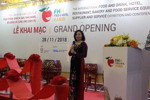 150 doanh nghiệp tham gia Food & Hotel 2018 tại Hà Nội