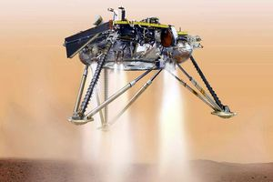 Tàu vũ trụ NASA hạ cánh xuống Sao Hỏa