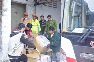Phát hiện xe biển số Lào chở 2,5 tấn nội tạng không rõ nguồn gốc