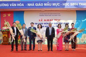 Nhiều đổi mới trong hội thi giáo viên dạy giỏi quận Thanh Xuân