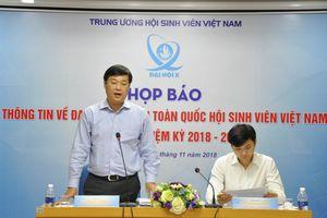 693 đại biểu tham dự Đại hội đại biểu toàn quốc Hội Sinh viên Việt Nam lần thứ X