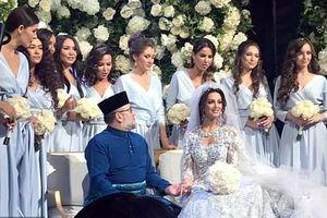 Vua Malaysia kết hôn với hoa khôi Moscow