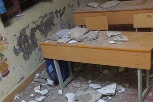 3 học sinh tiểu học nhập viện cấp cứu do trần nhà sập