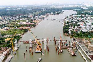 Ngưng thi công siêu dự án chống ngập gây mất an toàn cho tàu thuyền