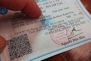 Mua thẻ bảo hiểm y tế… trên mạng