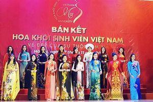 15 nữ sinh xuất sắc lọt vào chung kết Hoa khôi sinh viên Việt Nam 2018