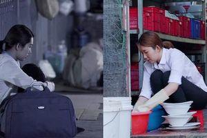'Gạo nếp gạo tẻ' tập 89: Tin được không, Hân 'Hoa hậu' chấp nhận đi rửa bát thuê và trải nghiệm sự hãi hùng khi ngủ gầm cầu!