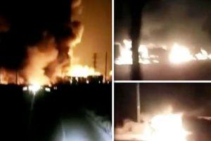 Nổ gần nhà máy hóa chất tại Trung Quốc, 22 người thiệt mạng