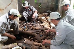 Quảng Trị: Hủy nổ gần 1.000 đầu đạn, bom có tính sát thương cao