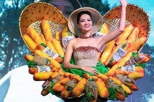 Được chỉnh sửa, váy bánh mỳ của H'Hen Niê vẫn bị chê kém sang