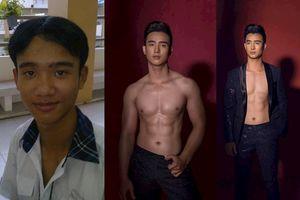 Hành trình 'lột xác' của chàng trai xấu xí thành hot boy 6 múi
