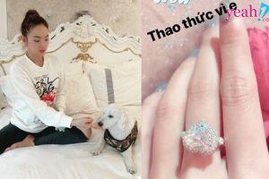Vừa mới khoe nuôi chó để đếm tiền, Minh Hằng tiếp tục khiến nhiều người choáng váng vì độ giàu có khi 'tậu' nhẫn kim cương