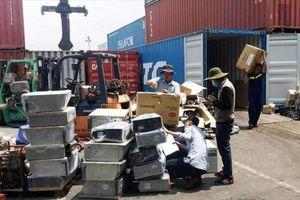 Bộ Công an vừa kiến nghị thanh kiểm tra hoạt động nhập khẩu phế liệu trên phạm vi rộng