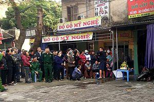 Hà Nội: Cửa hàng quần áo bốc cháy trong đêm, nữ chủ nhân tử vong