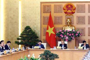 Thủ tướng chủ trì họp Thường trực Chính phủ về xây dựng Nghị quyết 01