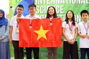 Học sinh Hà Nội thắng lớn ở kỳ thi Khoa học quốc tế ISC 2018