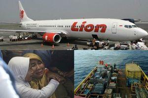 Vụ máy bay Lion Air rơi xuống biển: Indonesia công bố nguyên nhân