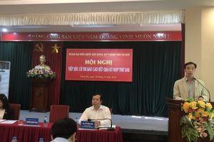 Cử tri quận Đống Đa bày tỏ sự tin tưởng vào kết quả Kỳ họp thứ 6, Quốc hội khóa XIV