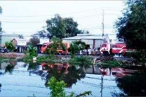 Cháy rụi căn nhà vắng chủ ở TP HCM