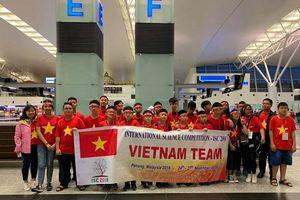 Học sinh Việt Nam giành 6 huy chương Vàng cuộc thi Khoa học quốc tế