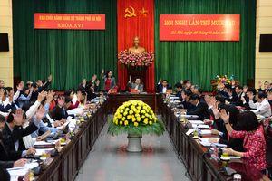 Hội nghị lần thứ mười sáu, Ban Chấp hành Đảng bộ TP Hà Nội: Xem xét, thảo luận 6 nội dung quan trọng