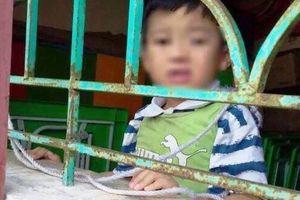 Sở GDĐT tỉnh Nam Định đã cử đoàn công tác về trường Mầm non B Trực Đại điều tra sự việc bé 4 tuổi bị buộc dây treo lên cửa sổ