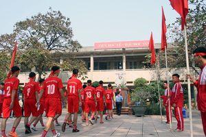 THPT Trương Định và THPT Phùng Khắc Khoan ngập tràn quyết tâm trước trận chung kết