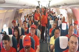Thêm 1 chuyến bay TP.HCM đến Bacolod cổ vũ đội tuyển