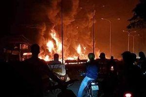 Khởi tố vụ lật xe bồn gây cháy làm 6 người chết ở Bình Phước