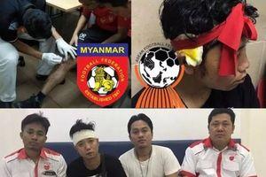 Myanmar bức xúc với hành vi côn đồ của CĐV Malaysia