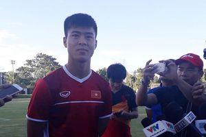 Đội tuyển Việt Nam có buổi tập đầu tiên tại Philippines