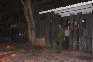 Khoảng 19h30 ngày 29/11, hoàn tất khám xét nhà 2 nguyên lãnh đạo BIDV chi nhánh Hà Tĩnh