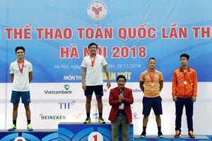 Môn Quần vợt Đại hội Thể thao toàn quốc lần VIII: Bình Dương, Đà Nẵng lên ngôi