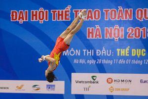 Hình ảnh đẹp mắt của các VĐV thể dục dụng cụ tại Đại hội thể thao