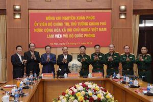 Thủ tướng Nguyễn Xuân Phúc: Trong những thành tựu chung của đất nước, quân đội có những đóng góp to lớn, quan trọng