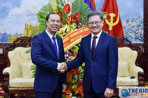 Lãnh đạo Bộ Ngoại giao chúc mừng Quốc khánh lần thứ 43 của Lào