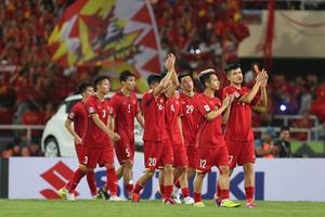 Đội tuyển Việt Nam trở lại tốp 100 thế giới