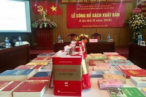 Nhà Xuất bản Chính trị quốc gia - Sự thật giới thiệu với độc giả thêm nhiều sách, tài liệu chuyên đề giá trị