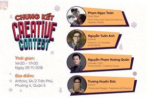 Creative Contest: Thử thách thú vị cho cộng đồng artist, multimedia designer
