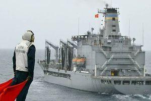 Hai chiến hạm Mỹ đi qua eo biển Đài Loan trước thượng đỉnh Mỹ - Trung