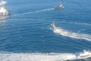 Tàu hải quân Nga tiến về 'điểm nóng' Azov giữa lúc căng thẳng với Ukraine