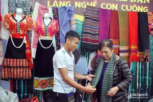 Nhiều sản vật xứ Nghệ tham gia Hội chợ nông nghiệp công nghệ cao