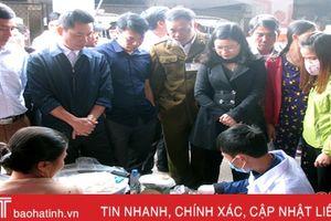 Thủ tướng quyết định thanh tra an toàn thực phẩm tại Hà Tĩnh