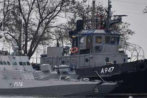 Nóng: Bất ngờ vũ khí trên tàu Ukraine bị Nga thu giữ