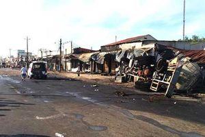 Bình Phước: Khởi tố vụ xe bồn gây tai nạn làm cháy 19 nhà dân, 6 người chết