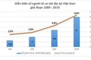 Năm 2019, Việt Nam có khoảng 6 triệu người 'rời quê lên phố'