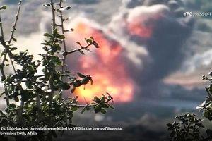 Dân quân người Kurd phóng tên lửa hủy diệt xe của nhóm 'nổi dậy'