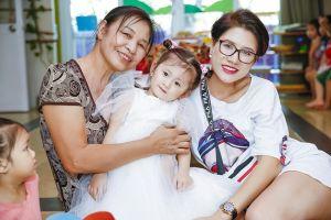 Chưa cần phải cười, con gái Trang Trần đáng yêu hết phần trong tiệc sinh nhật 3 tuổi