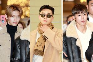 Sao Hàn tại sân bay (29/11): Park Seo Joon trở về sau khi 'đoàn tụ' với Park Min Young, Yunho - Changmin (DBSK) cuốn hút