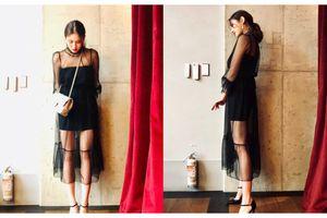 17 tuổi, mặc váy xuyên thấu, trang điểm đậm, Somi bị cư dân mạng đồng loạt chỉ trích
